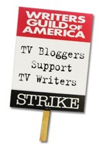 Writers Guild of America - TV Blogger Support TV Writers