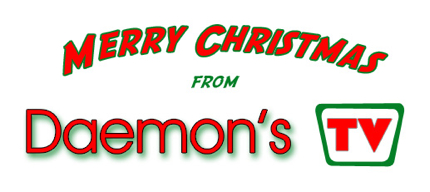 Merry Christmas from Daemon's TV