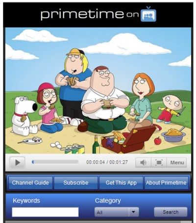 MySpace Primetime Application