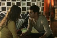 HEROES - Katie Carr as Caitlin, Milo Ventimiglia as Peter Petrelli in