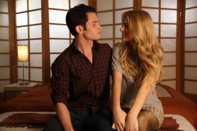 "GOSSIP GIRL - Penn Badgley as Dan Humphrey and Blake Lively as Serena in ""Seventeen Candles"""