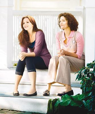 THE RUSSELL GIRL - Amber Tamblyn as Sarah Russell and Mary Elizabeth Mastrantonio as Gayle Russell on CBS