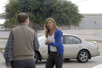 "FRIDAY NIGHT LIGHTS - Connie Britton as Tami Taylor in ""Leave No One Behind"""
