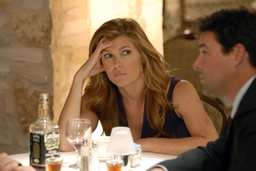 "FRIDAY NIGHT LIGHTS - Connie Britton as Tami Taylor, Kyle Chandler as Eric Taylor in ""May the Best Man Win"""
