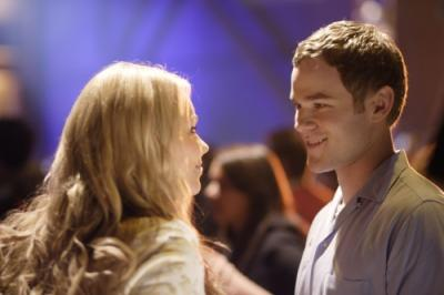 "SMALLVILLE -  Laura Vandervoort as Kara and Aaron Ashmore as Jimmy Olsen in ""Hero"""