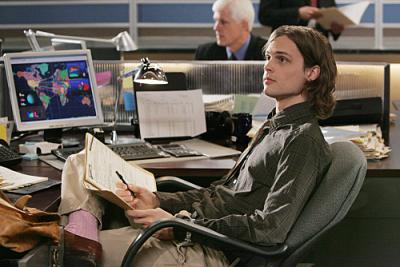 "CRIMINAL MINDS - Matthew Gray Gubler as Dr. Spencer Reid in ""Damaged"""