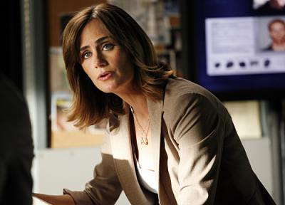 "NUMB3RS - Diane Farr as Megan in ""Black Swan"""