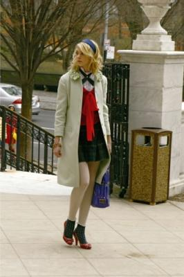 "GOSSIP GIRL - Taylor Momsen as Jenny in ""The Blair Bitch Project"""