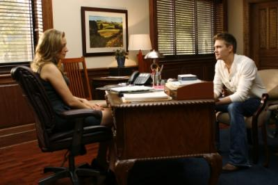 ONE TREE HILL - Michaela McManus as Lindsey and Chad Michael Murray as Lucas