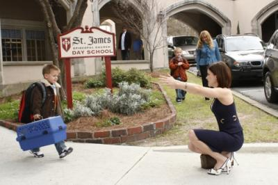 ONE TREE HILL - Jackson Brundage as Jamie and Sophia Bush as Brooke