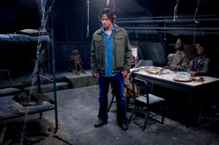 "SUPERNATURAL - Jared Padalecki as Sam in ""Ghostfacers"""