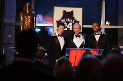 Jason Dohring as Josef Kostan, Matt Riedy as Hearst College Chancellor and Christian Keyes as Dominic Brewer
