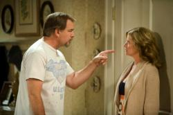 Bill Engvall and Nancy Travis
