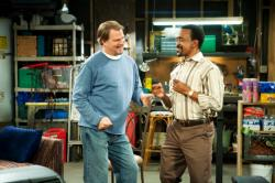 Bill Engvall (Bill Pearson) and Tim Meadows (Paul DuFrayne)
