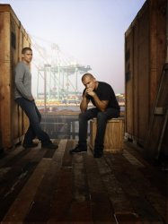 Prison Break -  Michael (Wentworth Miller) and Lincoln (Dominic Purcell)