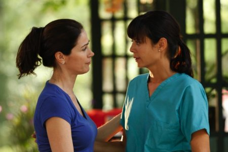 Army Wives - Claudia Joy (Kim Delaney) and Denise (Catherine Bell)