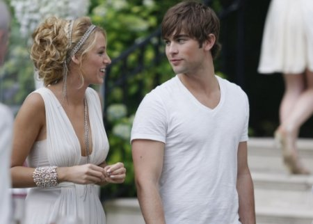 Gossip Girl - Blake Lively as Serena, Chace Crawford as Nate