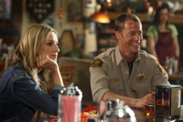 Eureka - Ever Carradine as Lexi Carter, Colin Ferguson as Jack Carter