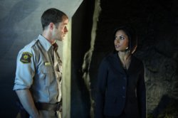 Eureka - Colin Ferguson as Jack Carter, Salli Richardson as Allison Blake