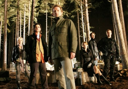 Primeval -  Abby (Hannah Spearritt), Connor (Andrew Lee Potts), Cutter (Douglas Henshall), Claudia (Lucy Brown), Stephen (James Murray) and Captain Tom (Mark Wakeling)