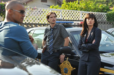 Shemar Moore, Matthew Gray Gubler and Paget Brewster
