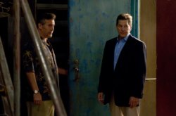Burn Notice - Bruce Campbell as Sam Axe, Tim Matheson as Larry