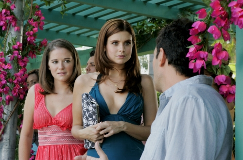 Sarah Drew as Caryn, JoAnna Garcia as Megan, and Robert Mailhouse as Peter - Privileged