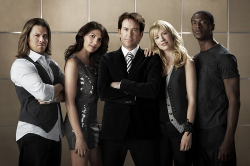 Leverage Cast - Christian Kane, Gina Bellman, Timothy Hutton, Beth Riesgraf, Aldis Hodge