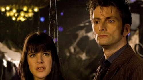 """Michelle Ryan, David Tennant - Doctor Who """"Planet of the Dead"""""""