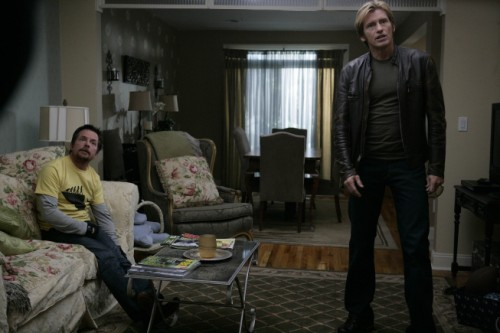 Denis Leary and Michael J. Fox on RESCUE ME