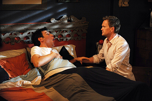Josh Radnor as Ted and Neil Patrick Harris as Barney In HOW I MET YOUR MOTHER