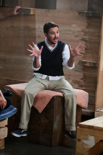 """Wil Wheaton in Leverage """"Two Live Crew"""""""