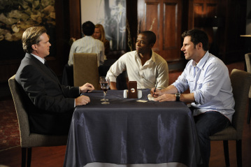 Cary Elwes, Dule Hill, James Roday - Psych