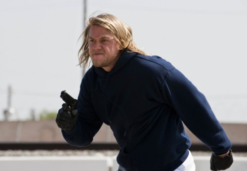 Charlie Hunnam as Jax in Sons of Anarchy
