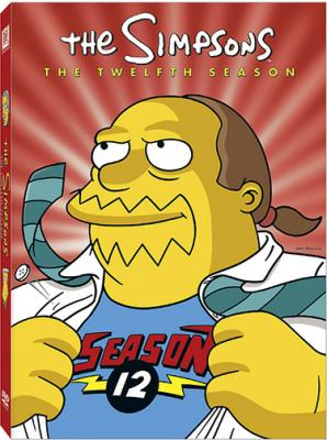 The Simpsons Season 12 DVD