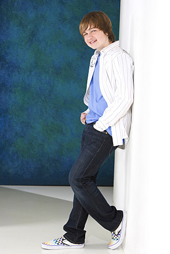 Angus T. Jones stars as Jake  on TWO AND A HALF MEN