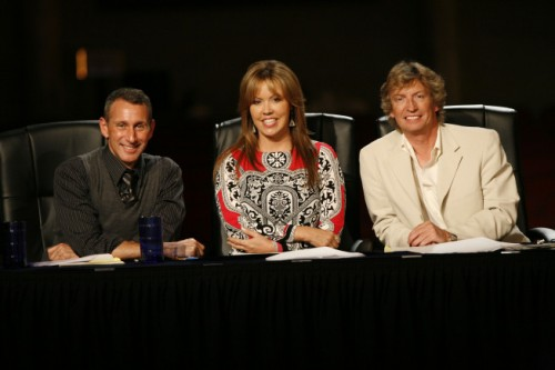 Adam Shankman, Mary Murphy and Nigel Lythgoe