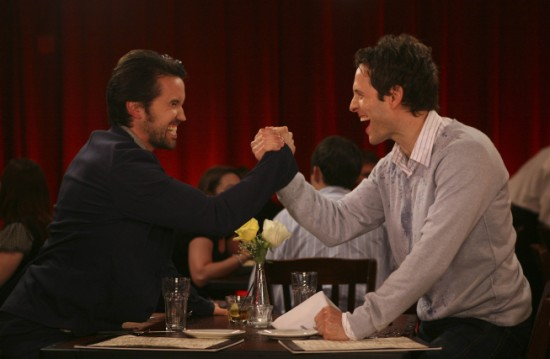IT'S ALWAYS SUNNY IN PHILADELPHIA Mac and Dennis Break Up (3)