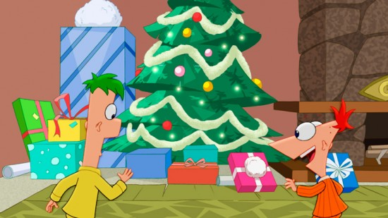 Phineas and Ferb Christmas Vacation