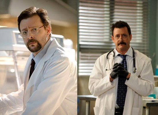 Left: Judd Nelson on Eleventh Hour - Right: Judd Nelson on Psych