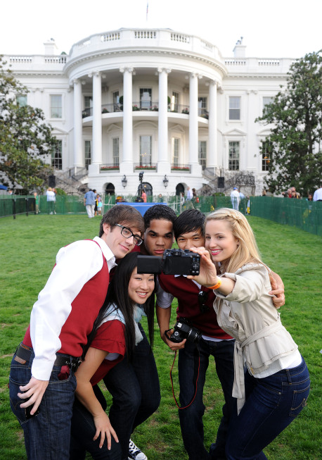 Glee white house (13)