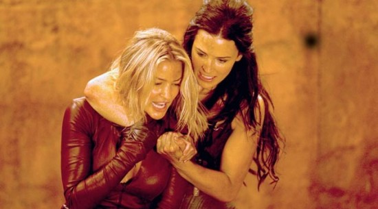 Tabrett Bethell and Bridget Regan in Legend of the Seeker