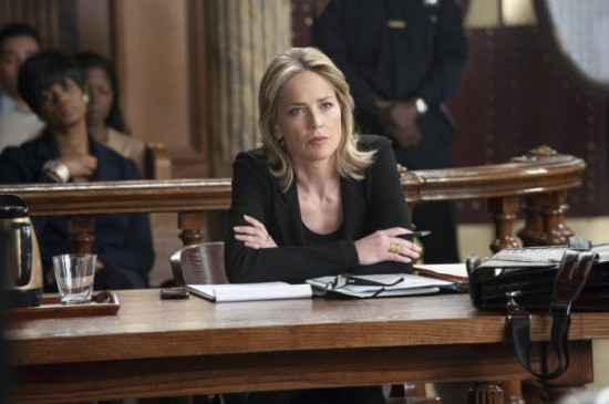 sharon stone Law order SVU