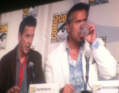 Burn Notice Comic Con 2010 Panel