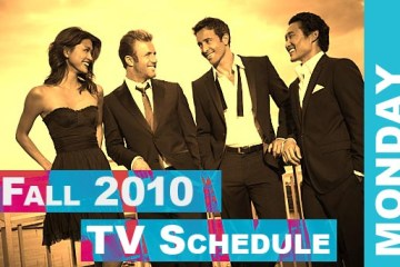 Fall 2010 TV Schedule Monday | Daemon's TV