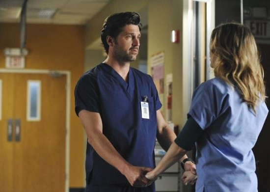 Grey's Anatomy (ABC) - Shock to the System- Patrick Dempsey, Ellen Pompeo