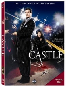 Castle Season 2 DVD