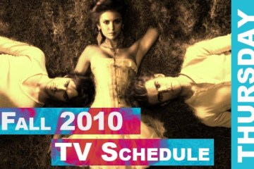 Fall 2010 TV Schedule Thursday | Daemon's TV