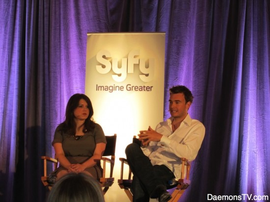 Robin Dunne at Sanctuary Panel