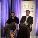 Ronald D. Moore and David Eick at Caprica Panel
